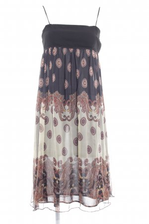 Zara Basic Trägerkleid Paisleymuster Casual-Look