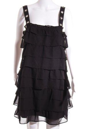 Zara Basic Overgooier zwart straat-mode uitstraling