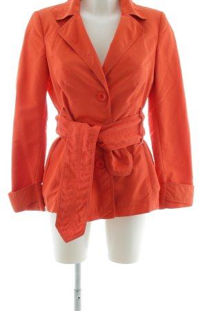 Zara Basic Trenchcoat orange clair style décontracté