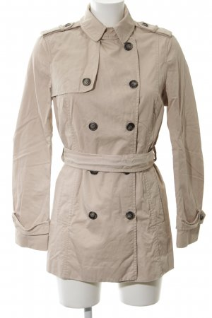 Zara Basic Trenchcoat altrosa Business-Look