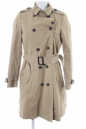 Zara Basic Trenchcoat beige Brit-Look