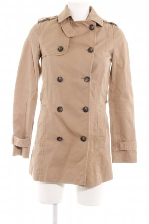 Zara Basic Trenchcoat beige Casual-Look