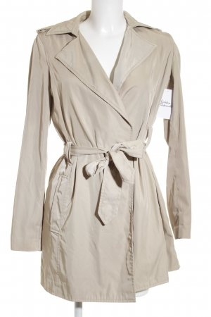 Zara Basic Trenchcoat beige-creme Business-Look