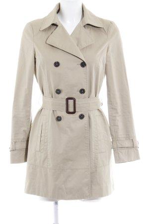 Zara Basic Trenchcoat beige klassischer Stil