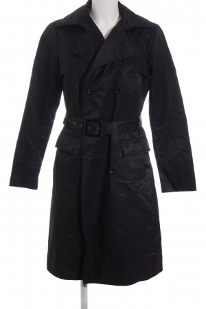 Zara Basic Trench nero stile casual