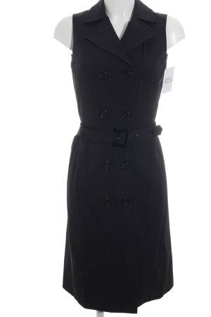 Zara Basic Trench Coat black simple style