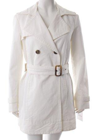 Zara Basic Trenchcoat Weiß
