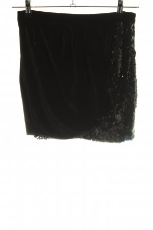 Zara Basic Tulip Skirt black casual look