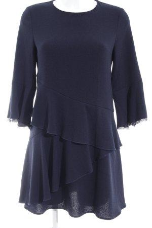 Zara Basic Casacca blu scuro stile semplice