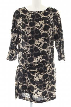 Zara Basic Tunic Dress animal pattern casual look