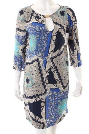 Zara Basic Tunikakleid abstraktes Muster Casual-Look