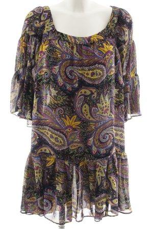 Zara Basic Robe tunique Mélange de motifs Look de plage