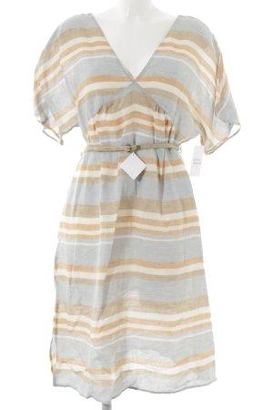 Zara Basic Vestido tipo túnica estampado a rayas Estilo playero