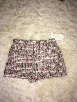 Zara Basic Tweed Shorts Größe S