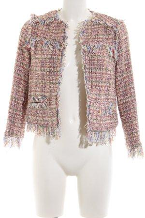Zara Basic Tweedblazer Allover-Druck Business-Look