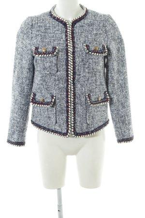 Zara Basic Tweedblazer mehrfarbig Elegant