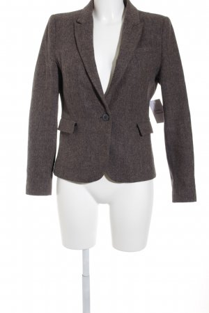 Zara Basic Tweedblazer meliert College-Look