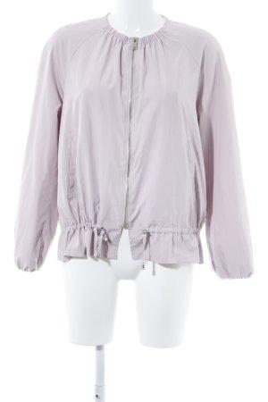 Zara Basic Veste mi-saison vieux rose style romantique