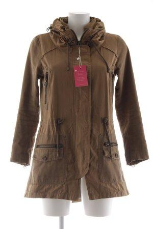 Zara Basic Übergangsjacke camel-beige Casual-Look