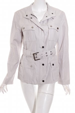 Zara Basic Veste mi-saison beige clair style décontracté