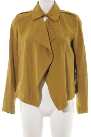 Zara Basic Übergangsjacke limettengelb Casual-Look