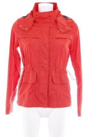 Zara Basic Veste mi-saison rouge style décontracté