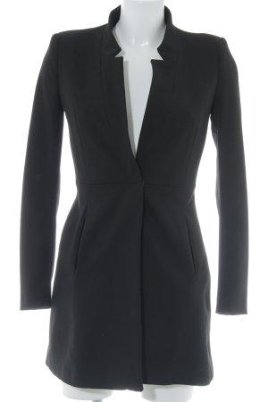 Zara Basic Abrigo de entretiempo negro estilo «business»