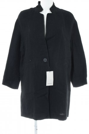 Zara Basic Between-Seasons-Coat black casual look