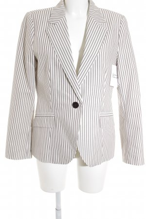Zara Basic Unisex-Blazer Streifenmuster Business-Look
