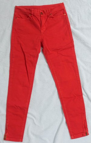Zara Basic Vintage Collection Jeans Rot