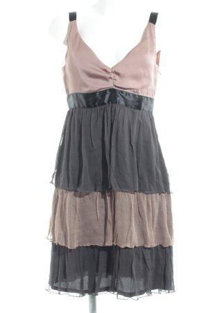 Zara Basic Volantkleid mehrfarbig Elegant