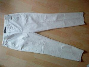 ZARA BASIC weiße Buissnesshose 36