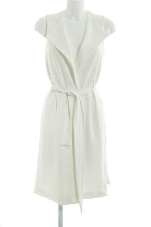 Zara Basic Robe portefeuille beige clair style décontracté
