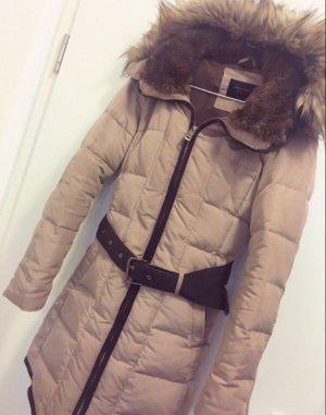 Zara Basic Abrigo de plumón multicolor