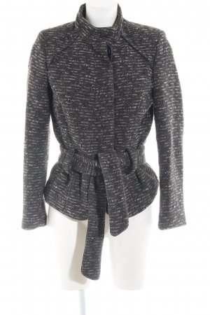 Zara Basic Wolljacke Allover-Druck Casual-Look