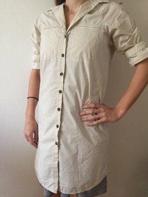 ZARA Basics, Kleid, beigefarben, ultraleicht, Gr. S