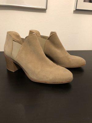 Zara beige Ankle Boots
