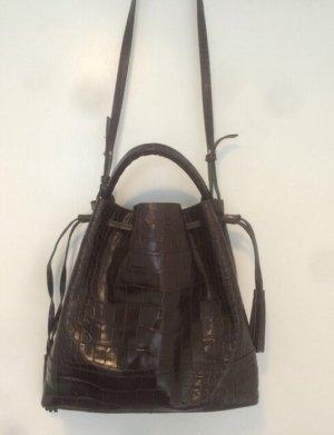 Zara - Beutel Tasche Bucket Bag Leder