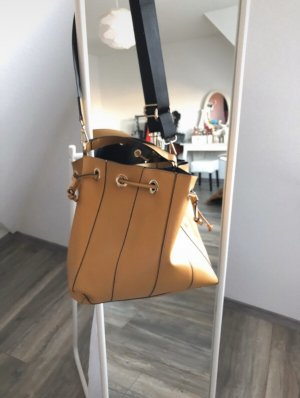 Zara Sac Baril orange doré