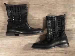 Zara Botas deslizantes negro