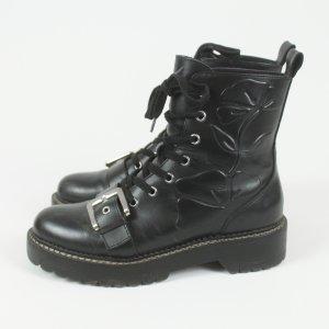 Zara Biker Boots Gr. 37 schwarz (19/03/197)