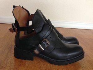 Zara Biker Cut out Boots