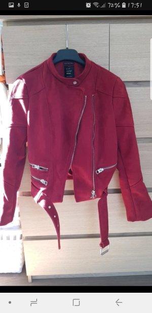 Zara Veste rouge foncé