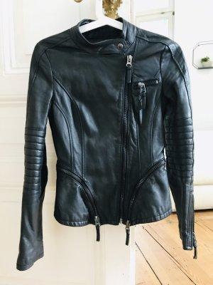 Zara biker lederjacke neuwertig XS ausverkauft