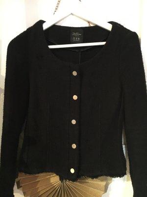 Zara Biker Tweed Jacke Gr. 36/38