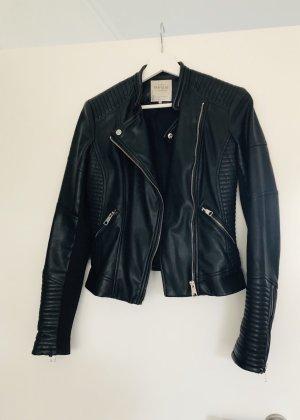 Zara Bikerjacke schwarz hochwertig wie *NEU**