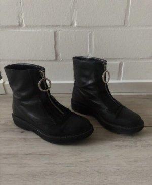 Zara Bilder Boots Leder Stiefel