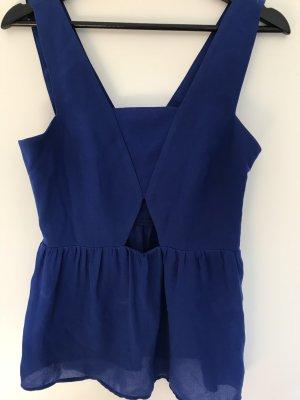 Zara // Blaues Top // Gr.34,36