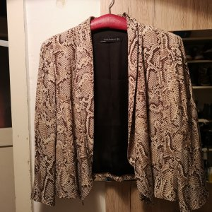 Zara Blazer color bronce-beige