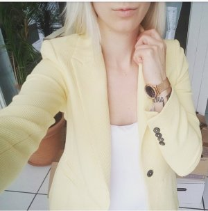 Zara Blazer gelb neu